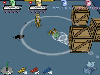 Head smashing action filled arcade game.